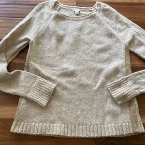 J.Crew oatmeal colored sweater